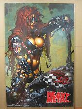 HEAVY METAL 1999 ORIGINAL Vintage science fiction and fantasy movie Poster 1510