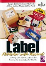 LABEL PUBLISHER Creator Maker - Design & Print PC CD-ROM Brand New