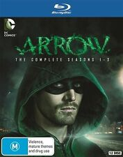 ARROW Complete The complete Season Series 1, 2 & 3 Blu ray Box Set RB New Sealed