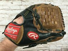"RAWLINGS Premium Series D1150PT 11.5"" PRO Taper Leather Baseball Glove Mitt RH"