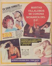 !ZAS! November 13 1987 Martha Villalobos, Pierden La Cabellera 053017nonDBE