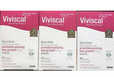 Lot Of 3 Boxes Viviscal Extra Strength Hair Growth Supplements 180 Tablets