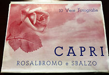 Estate Sale - 1940s Vintage Capri Photo Card Set - Fotocelere - Torino