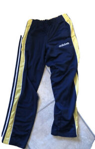 adidas Vtg retro adibreak Poppers Track Pants L