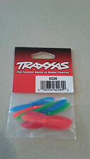 Traxxas 6226 ROTOR BLADE SET  RED BLUE GREEN ORANGE  8 PCS  NEW NIP