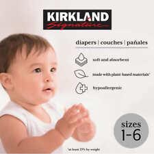 Kirkland Signature Diapers Sizes 1-6