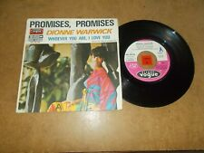 DIONNE WARWICK - PROMISES PROMISES - WHOEVER YOU ARE I LOVE YOU  / LISTEN
