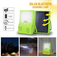 Portable Solar Panel Power Generator Station Phone Charger Emergency Party Light