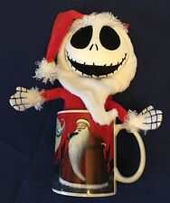 The Nightmare Before Christmas Santa Jack Plush Doll In Mug - Red w/ Characters