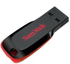 128G Cruzer Blade Flash Drive SDCZ50-128G-B35 Flash Memory, Pen Drive, USB Stick