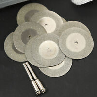 10pcs Diamond Coated Cutting Wheels Saw Blades Disc For  Power Rotary Tool