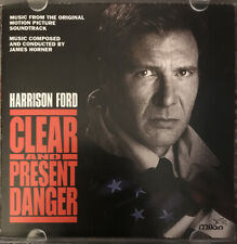 Clear And Present Danger - Original Soundtrack by James Horner (CD, 1994, Milan)