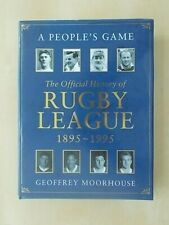 A PEOPLES GAME - THE OFFICIAL HISTORY OF RUGBY LEAGUE 1895-1995 - CENTENARY