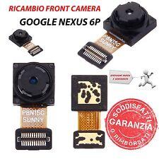 RICAMBIO CONNETTORE FRONT CAMERA ANTERIORE FLEX CABLE per GOOGLE NEXUS 6P
