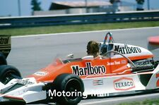 JAMES HUNT McLAREN M26 BRAZILIAN GRAND PRIX GP 1978 SET 12 PHOTOGRAPHS FOTOS F1