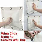 Wing Chun Kung Fu Punching Sand Bag Martial Art Boxing Hang Wall Canvas Cove W