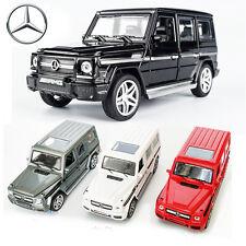 1:32 Mercedes-Benz AMG G65 SUV Diecast Model Pull Back 4WD Car Kid LED Light Toy