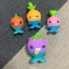 4Pcs/set Fisher-Price Octonauts THE VEGIMALS Figures Playset Dolls Kids Toys