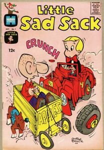 Little Sad Sack #1-1964 vg 4.0 Richie Rich on cover George Baker / The General