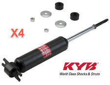 4 Shock Absorber Kits KYB Front & Rear L & R Pair Gas charged.