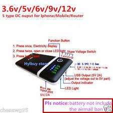 Adjust 5V 2A 9v 12v Mobile Power Bank USB 18650 Battery Charger Box Phone