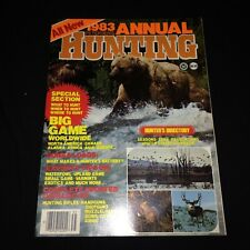 1983 Petersen's Hunting Magazine~Big Game, Archery, Guns, Ammo, Deer, Bear ++