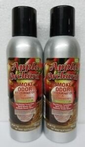 Smoke Odor Exterminator Apple Orchard 7 oz Large Spray Set of Two Cans