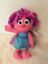 "Hasbro Sesame Street Talking Abby Fairy 12"" Plush 2010"