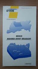► De Lijn Vlaams-Brabant, busboekje regio Noord-Oost-Brabant (1999)