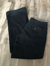 Jacob Connexion Corduroy Navy Blue Pants Bell Bottoms Size 7/8