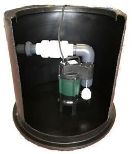 Domestic Sewage Pumping Station (190ltr) 6m Lift - Z190