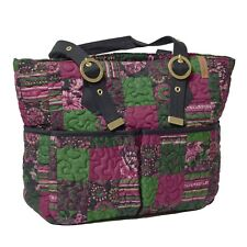 "Donna Sharp ""Canterbury"" ELAINA BAG 17"" x 11"" x 4.25"" NWT"