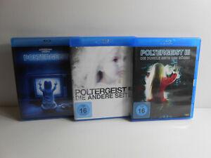 Poltergeist I + II + III 1-3 1 2 3 * Blu Ray *