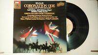33 RPM Vinyl Elgar Coronation Ode EMI ASD 3345 111214KME