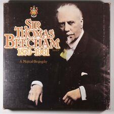 Sir Thomas Beecham 1879-1961 A Musical Biogarphy / World Records / Listen!