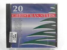 20 Christmas Stars Vol. 6  CD Loretta Lynn, Waylon Jennings, Brenda Lee Sealed