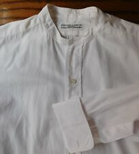 Huntsman Savile Row tunic shirt 14.5 vintage 1930s men's business wear VGC