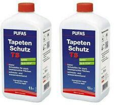 2x Pufas Tapeten Anstrichschutz 1l  Elefantenhaut Tapetenschutz farblos