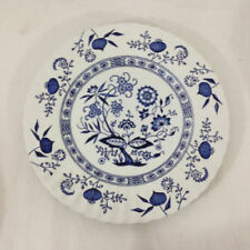serving plate,serving dish England Ornate Flowers floral,ironstone Classic White Blue Nordic 13,platter vintage Blue J /& G Meakin