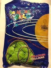 20 PALLONCINI VERDE CHIARO pallone palloncino palloni diametro 26 cm tondo