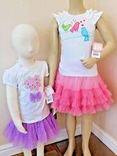 JONA MICHELLE GIRLS TWO PIECE Embellished T-Shirt & Tutu Skirt Set 2 SIZES BNWT