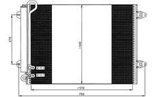NRF Condensador, aire acondicionado VOLKSWAGEN GOLF PASSAT SKODA OCTAVIA 35614