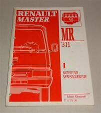 Manuel atelier renault master moteur stand 1994