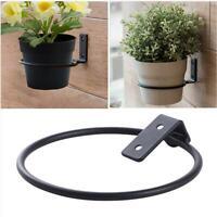 3X Wall Mounted Flower Pot Holder Wall Hang Ring Holder For Flower Pot Plant
