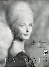 ▬► PUBLICITE ADVERTISING AD Parfum Perfume Jolie Madame BALMAIN 1958