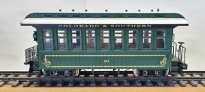 USA Trains G Scale Passenger Car Colorado And Southern #181
