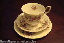 Royal Albert -England- c1940s Lavender Rose Trio cup, saucer / cake plate[*59]