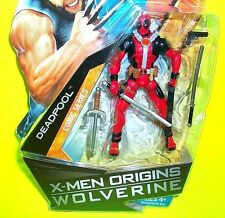 DEADPOOL X-men WOLVERINE Origins ACTION FIGURE MARVEL COMIC BOOK SERIES Red Gear