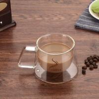 Kaffeetasse Teetasse Doppelwandige doppelwandig Kaffeebecher Tasse glas L/P