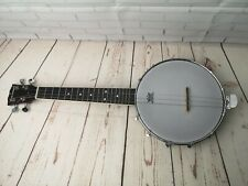 Blue Moon 4 string banjo, Remo weather King Banjo head only, musical instrument
